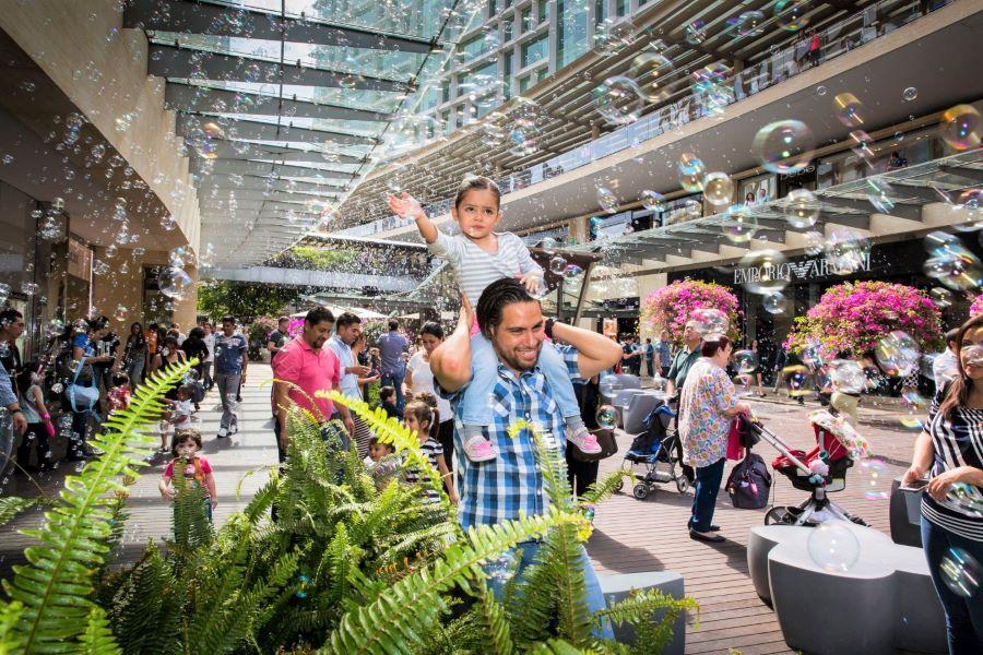 Bubbles in Mexico City at Antara Polanco