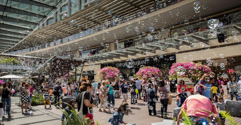 Bubblefest at Antara Polanco in Mexico City